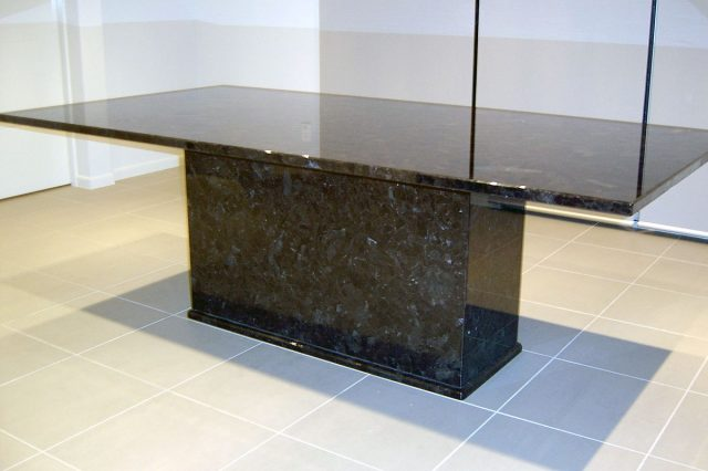 Antique Brown Granite Table 1