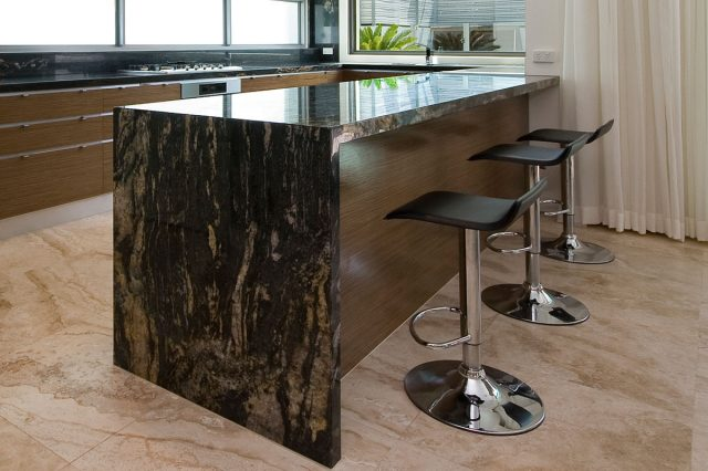 Black Forest Gold Granite 1